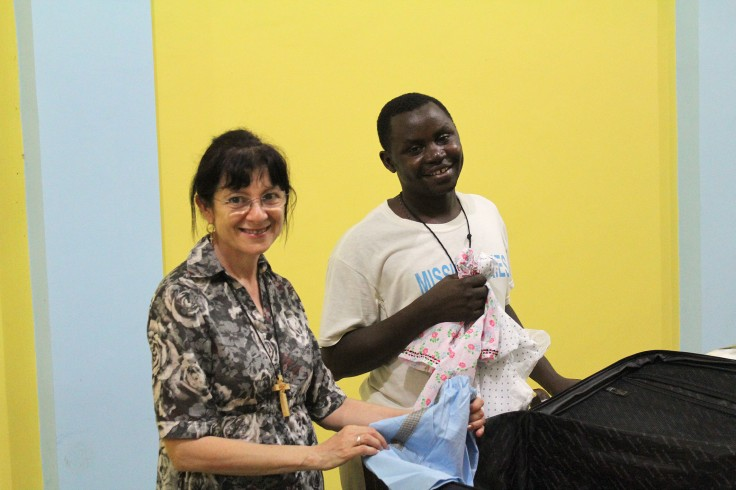 Donations of home made clothing for poor children (1 June 2013)