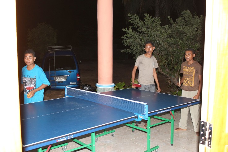 Table tennis as well (5 June 2013)