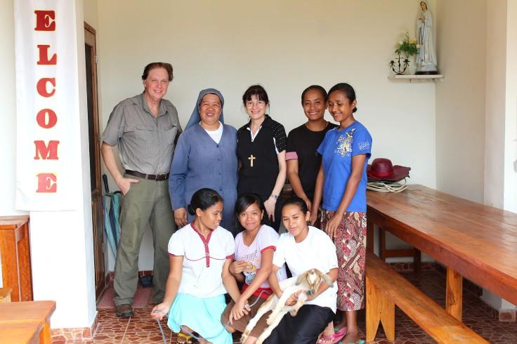 Visiting the sisters Labuan Bajo (4 June 2013)