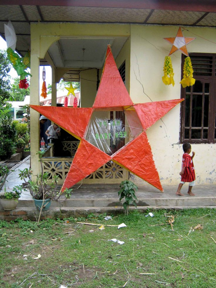 The completed Christmas star (16 December 2012)