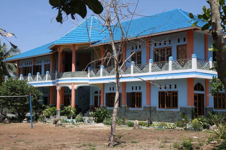 The monastery in Labuan Bajo