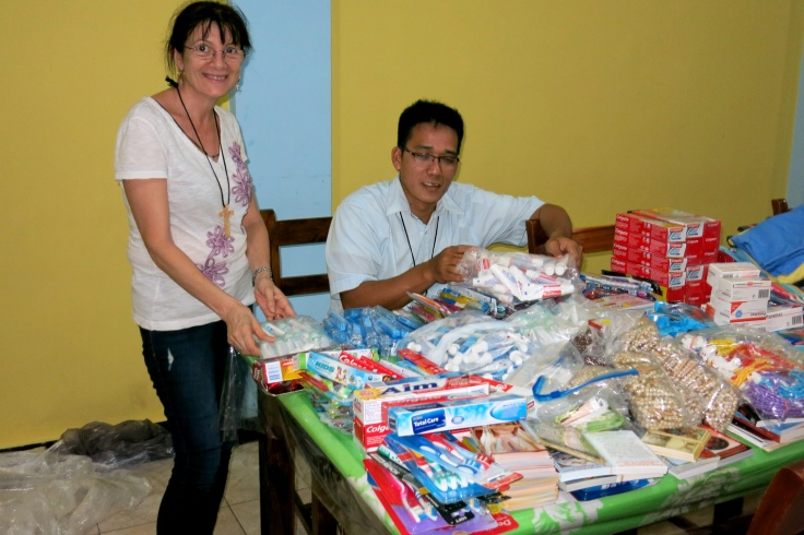 Dental supplies (special thanks to our generous supporters)
