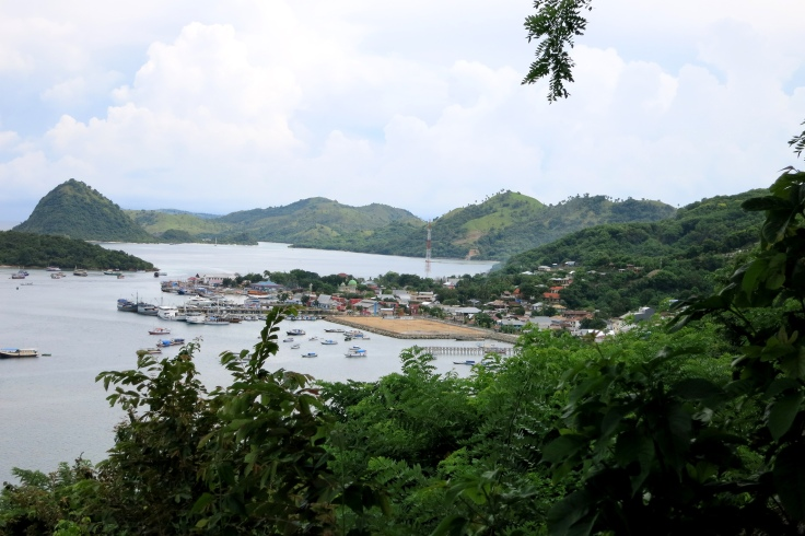 New container facility at the Labuan Bajo harbour