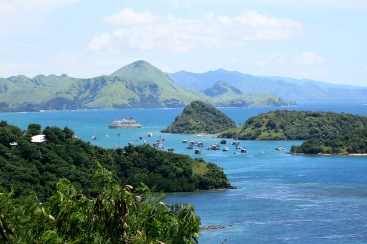 As always, the beautiful bay at Labuan Bajo