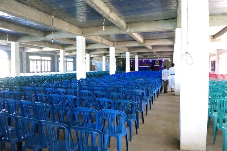 14. Parish church almost complete