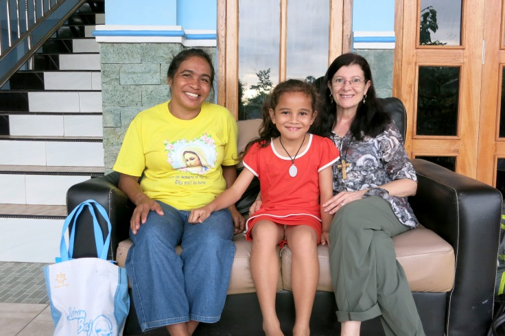 26. Sponsor child Melani with grandma (nenek) and Tina
