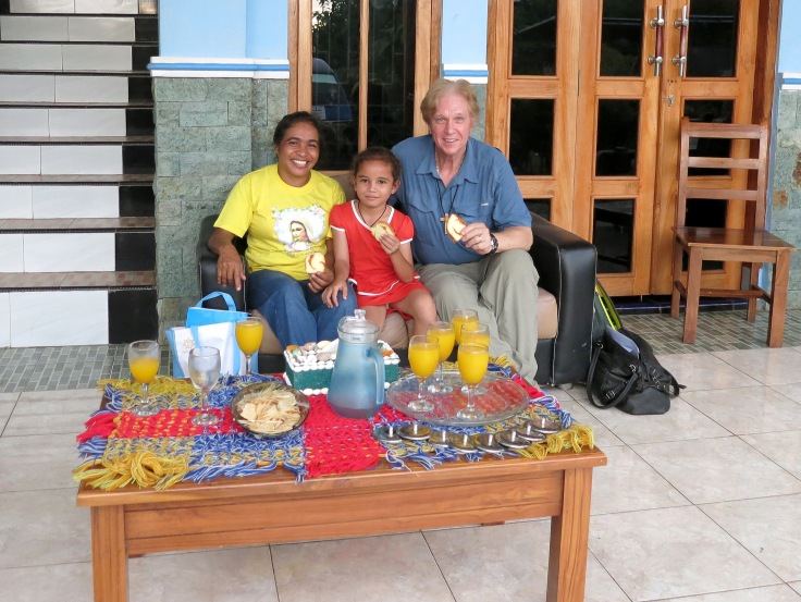 27. Sponsor child Melani with grandma (nenek) and Trevor