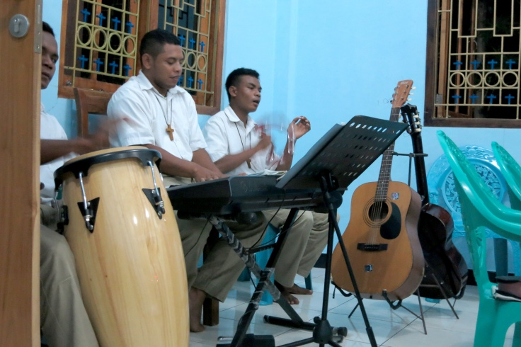 4. After adoration, music with night prayer