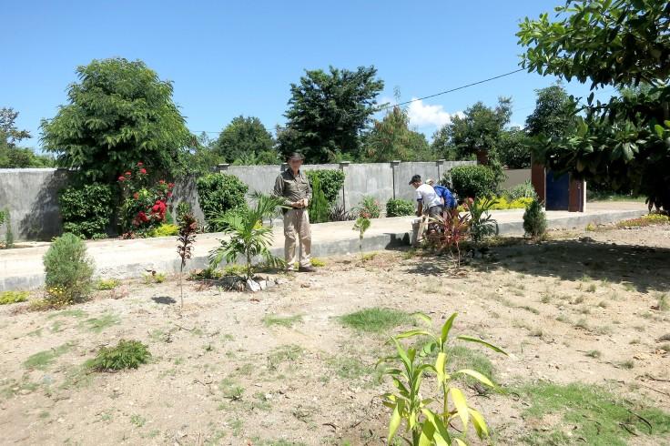 6. Hot work in the garden