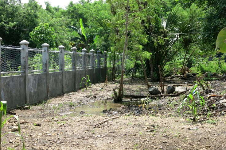 Apostolate fence is completed (February 2014)