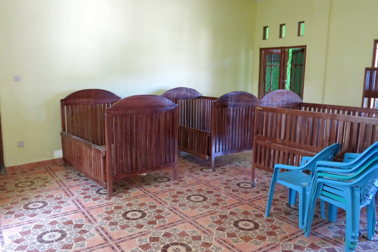 Cots ready for yound disabled residents (March 2015)