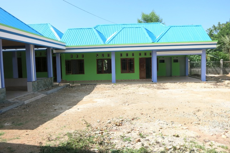 New clinic in the front wing of the apostolate (March 2015)