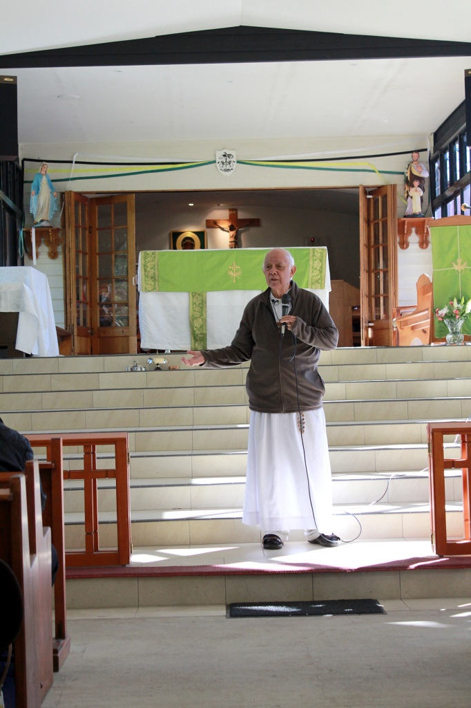 12 Address to the faithful after Mass by V Rev Fr Ho Lung