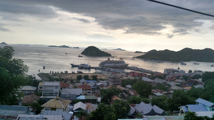 That night overlooking Labuan Bajo