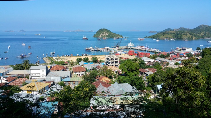 The next morning Labuan Bajo is as beautiful as ever