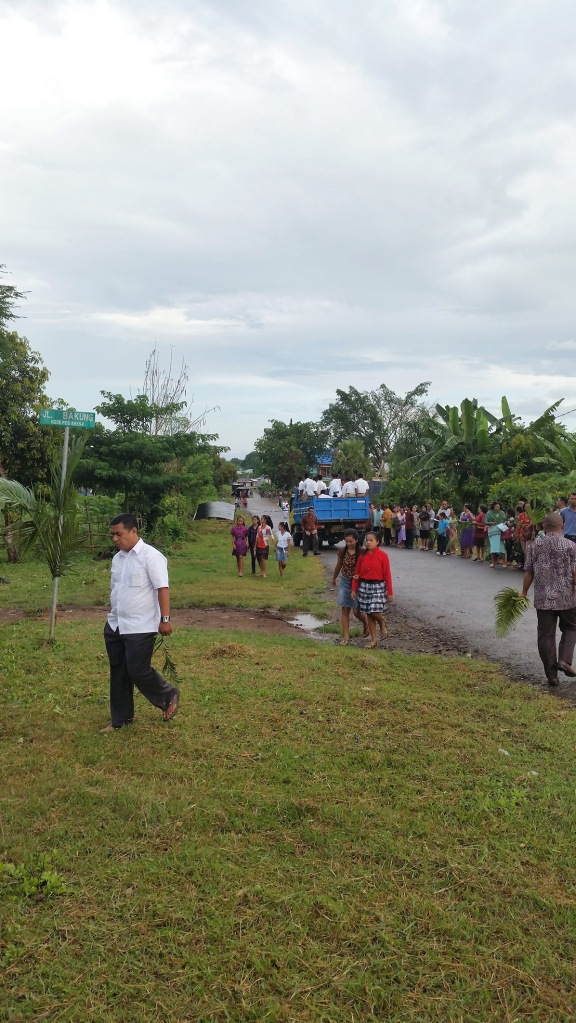Very good Holy Mass attendance in Flores