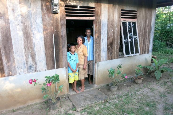 The Lodan's family home (2015)