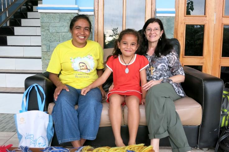 Melani with Grandma (Nenek) and Tina (2015)