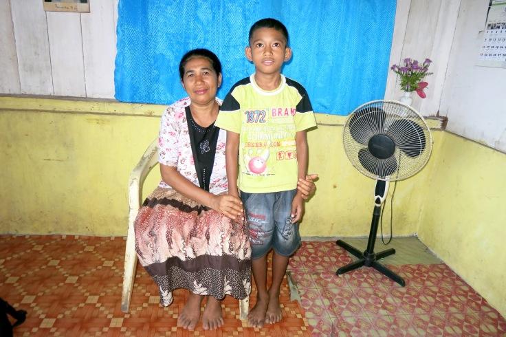 Remigius with his Mum (2014)