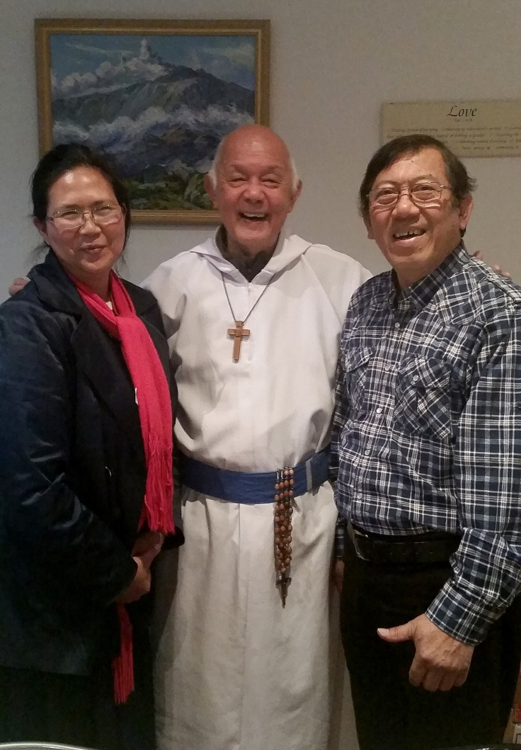 11_The Indonesian connection-V Rev Fr Ho Lung with Michele and Heru Santos (Taringa)