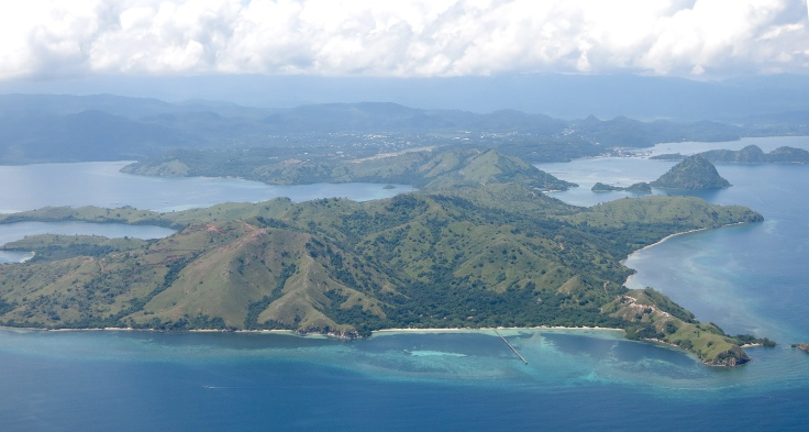 1. Flying into Labuan Bajo