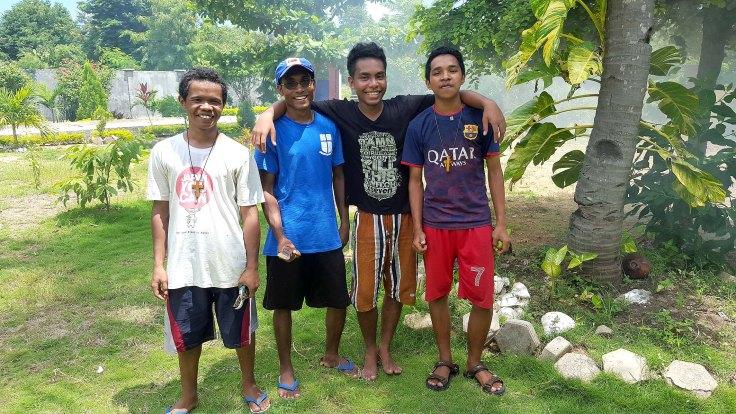 12. The gardening team