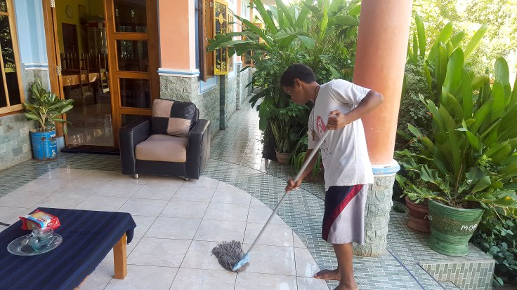 18. Mopping