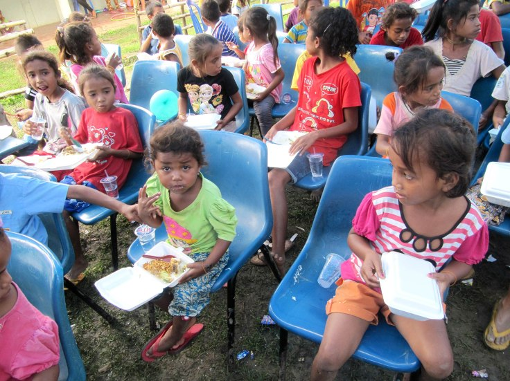 6. Children's feeding program