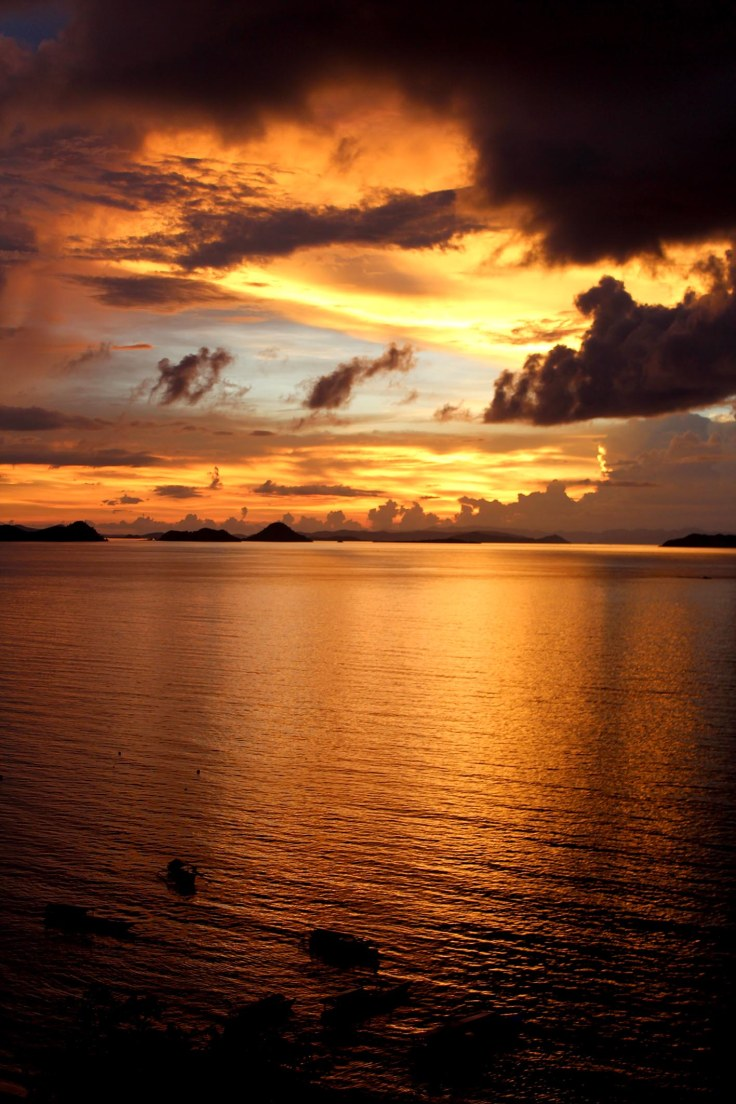 21. The sun sets on Labuan Bajo
