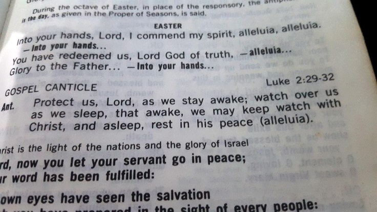 26. 'Protect us Lord as we stay awake, watch over us as we sleep'