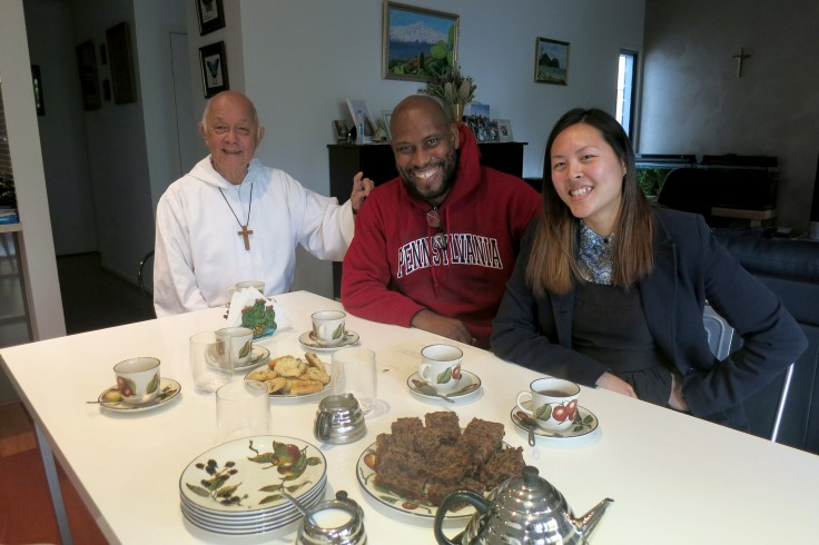 14. Father with Emilie and Wynton
