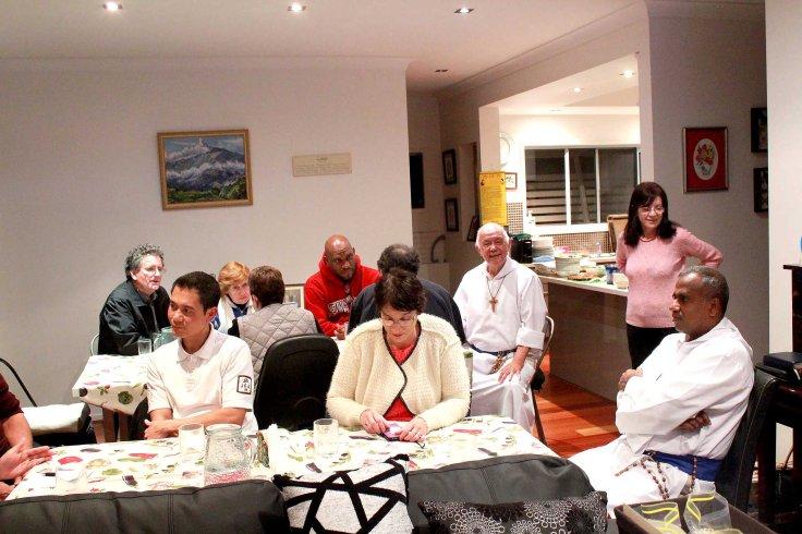 18. Dinner with the Brisbane associates