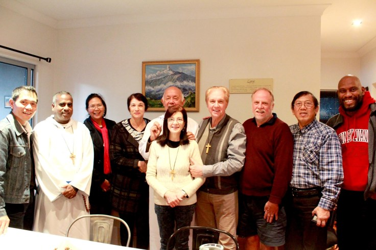 21.The Brisbane group with Fathers Ho Lung and Ambrose, and Wynton
