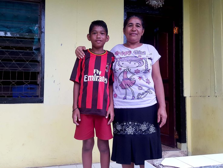 Remigius and mum
