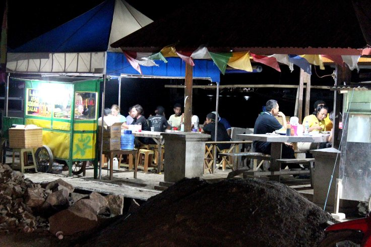 28. The ever increasing night dining along the water at Labuan Bajo