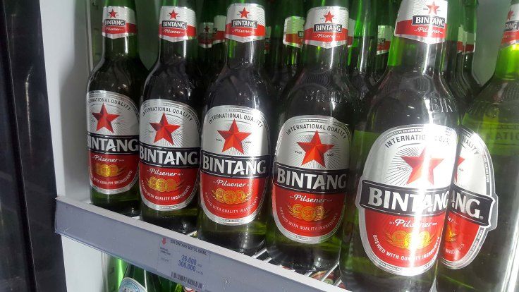 5. These cold Bintang do look good in the tropics