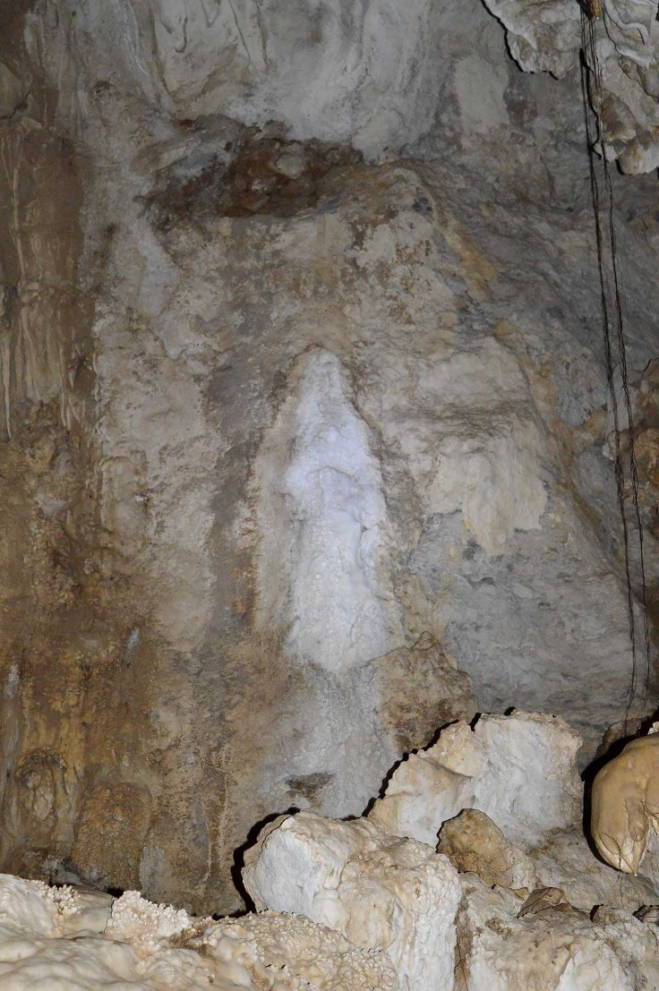 5. Our Blessed Mother in the cave
