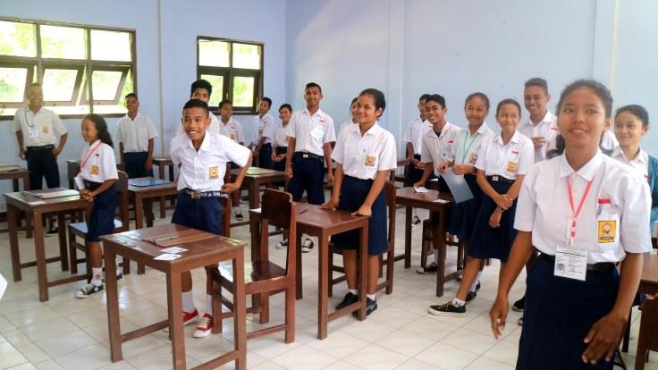 6. Grade 8 classroom